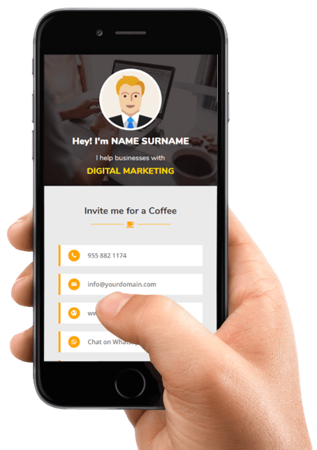 digital business card maker app