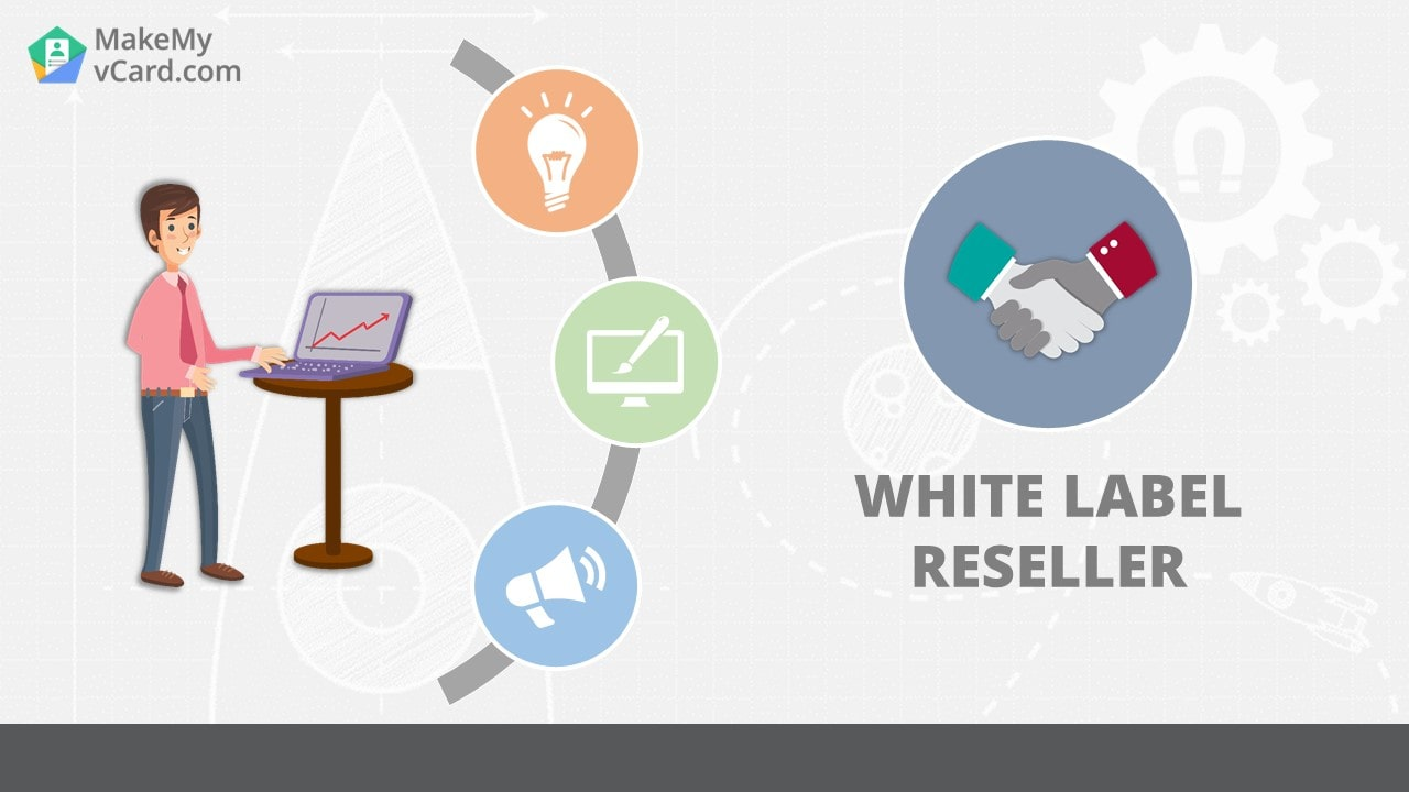 White Label Reseller Software for Digital Business Card