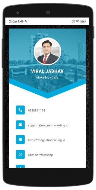 smart digital business card